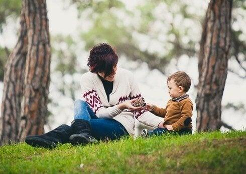 Profitez des premiers mois de votre enfant.