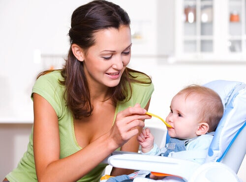 L'alimentation pendant la première année de vie du bébé