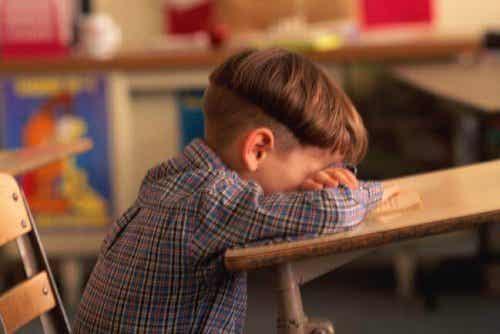 6 causes du faible rendement scolaire chez les enfants