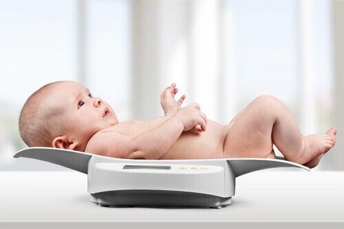 Les percentiles du bébé selon son âge
