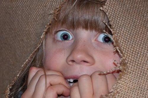 Les enfants ont souvent peur des criminels.