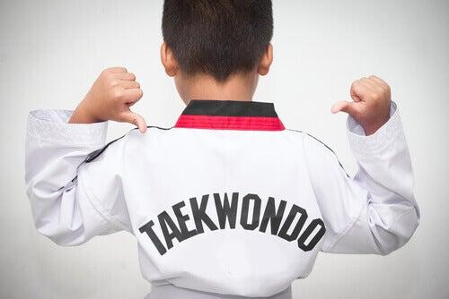 La pratique du taekwondo et ses bénéfices chez les enfants