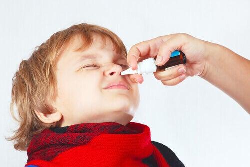 La congestion nasale chez les enfants