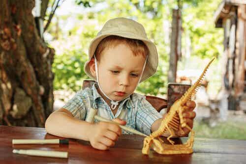 Mon fils est fasciné par les dinosaures !