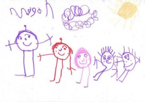 dessins d'enfant