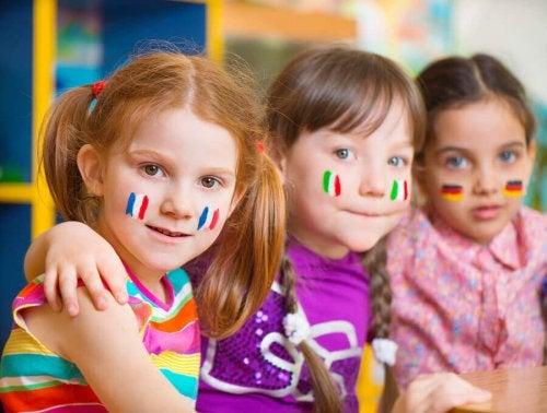 Apprentissage des enfants bilingues