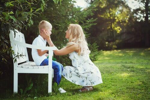 écouter la peine d'un enfant est un bon remede