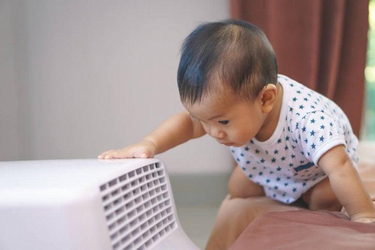 L'utilisation de l'air conditionné lorsque l'on a un bébé