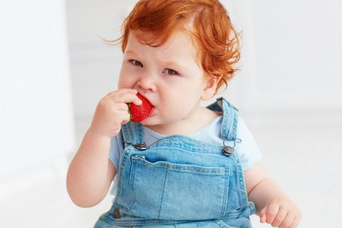 allergies alimentaires - fraise