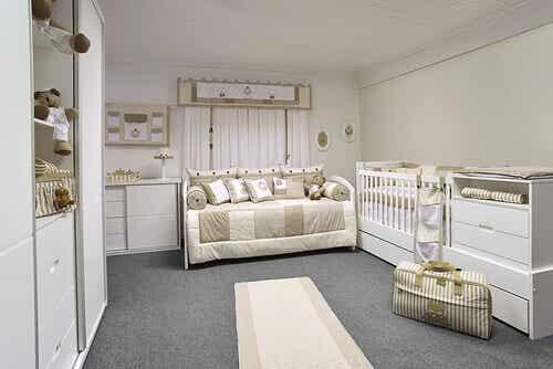 9 choses qui ne doivent pas manquer dans la chambre de votre bébé