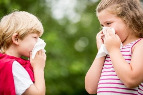 enfant saigne du nez