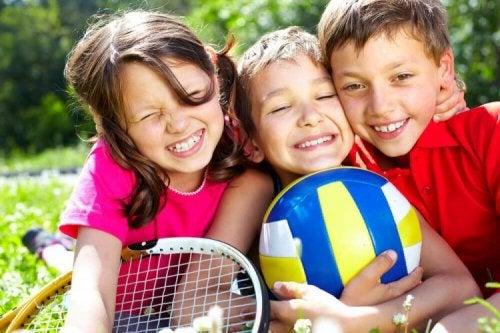 6 activités physiques pour les enfants de 2 à 5 ans