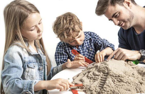 Utiliser du sable magique