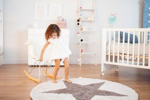 la chambre de bébé est élément important