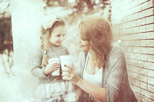la confiance mère fille est vitale