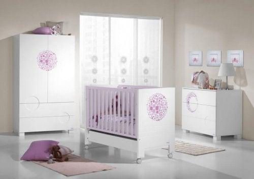 la lumière de la chambre de bébé