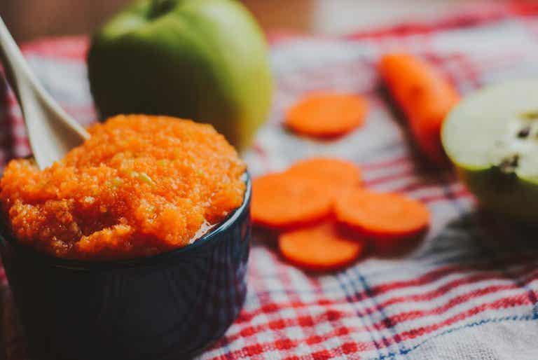 4 recettes de purées de légumes pour enfants