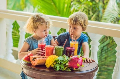 10 smoothies pour enfants