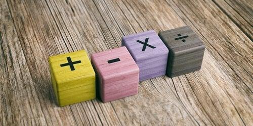 un age pour apprendre les multiplications