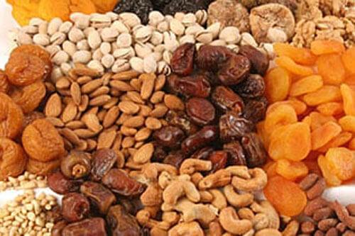Les bienfaits des fruits secs pour les enfants