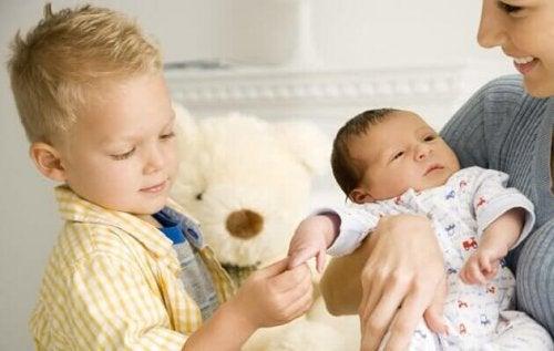 changements avec l'arrivée du bébé