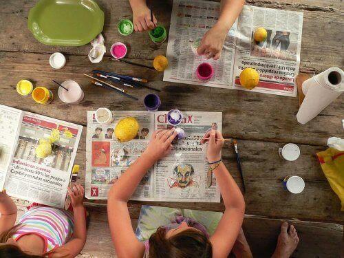Bricolages simples pour les enfants de 2 à 3 ans