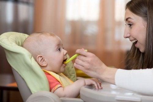 Recettes saines pour bébés de 6 à 9 mois
