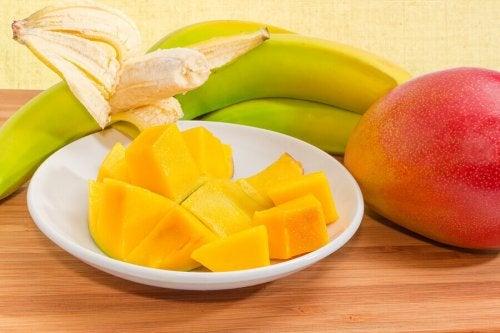 les mangues font de très bons petits plats