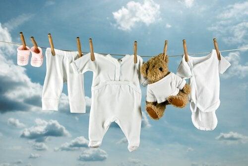laver les vêtements
