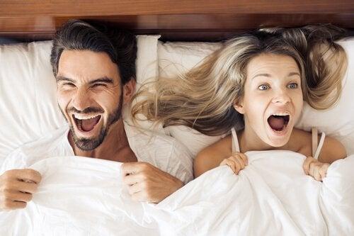 La sexualité après l'accouchement peur être amusante, remplie de plaisir et d'amour s'il existe une réelle communication dans le couple.