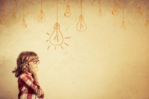 La pensée divergente chez les enfants les aide à faire face aux imprévus de la vie.