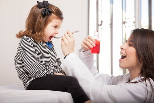 La toux sèche chez les enfants