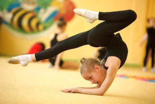 Gym artistique pour les enfants : ses multiples bénéfices
