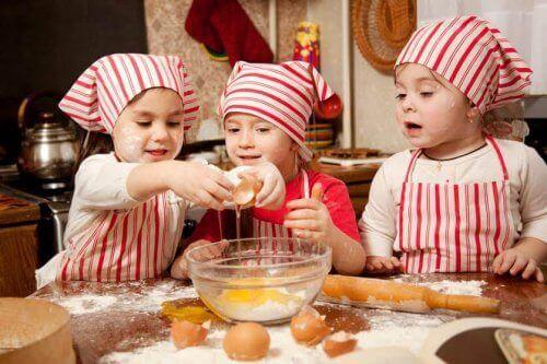 conseils pour cuisiner avec votre enfant