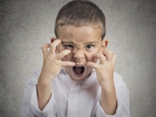5 types de crises de colère que votre enfant peut avoir