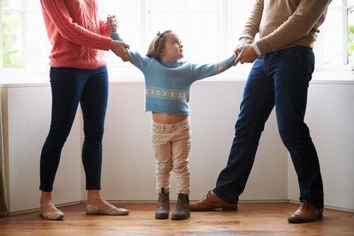 Deux parents se disputent la garde de leur fille