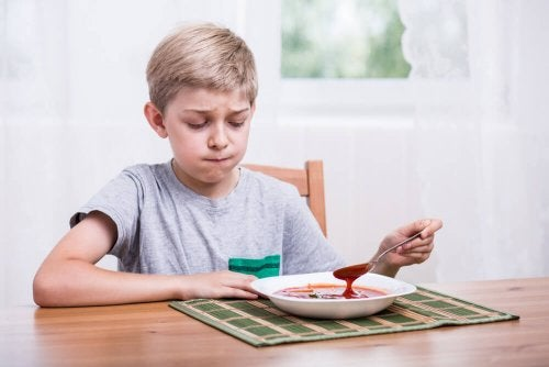 mon enfant ne veut pas manger