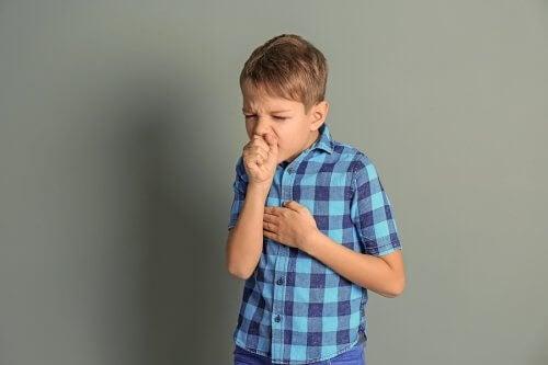 respiration sifflante chez les enfants