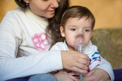 La respiration sifflante chez les enfants