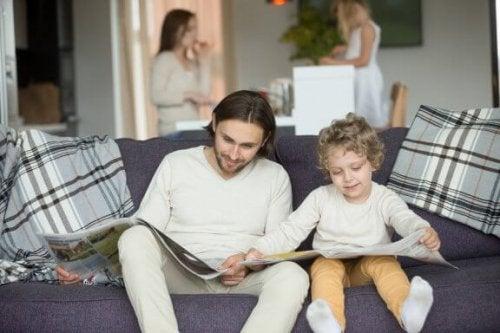 Le meilleur exemple pour les enfants est à la maison