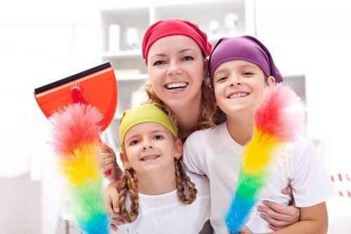 Nettoyage de la maison : trucs et conseils