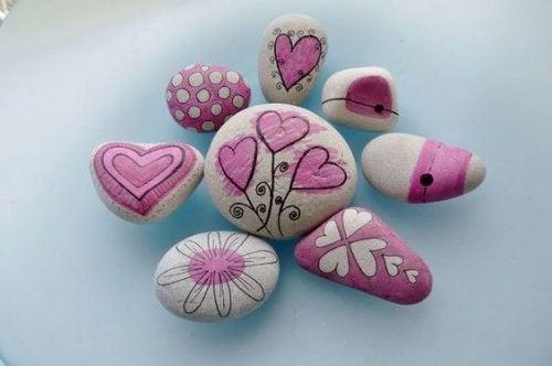 décoration des pierres