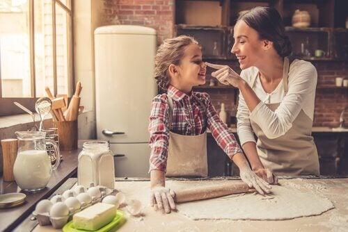 cuisiner avec les tout petits