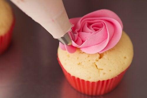 Réalisation d'un cupcake