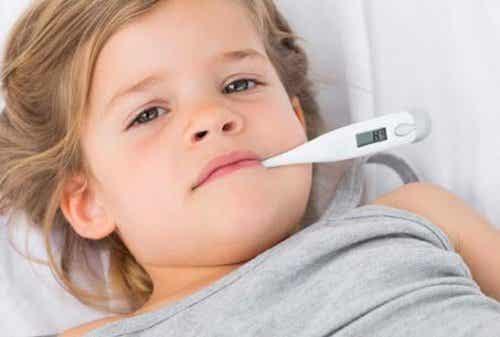 La peur de la fièvre chez certains parents