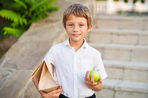Idées de goûter pour la récréation des enfants
