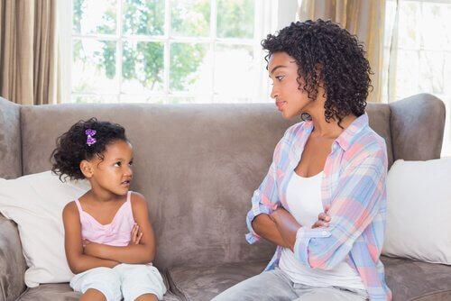 La fermeté, un moyen de négocier avec les enfants