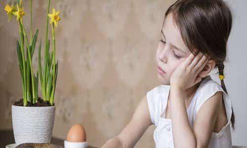 La perte de poids chez l'enfant