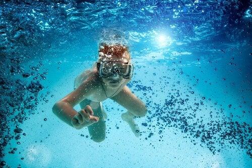 La plongée sous-marine pour enfants, un contact avec la nature