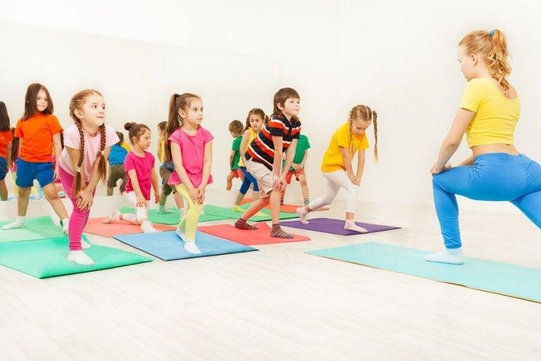 Les bienfaits de l'aérobie pour les enfants